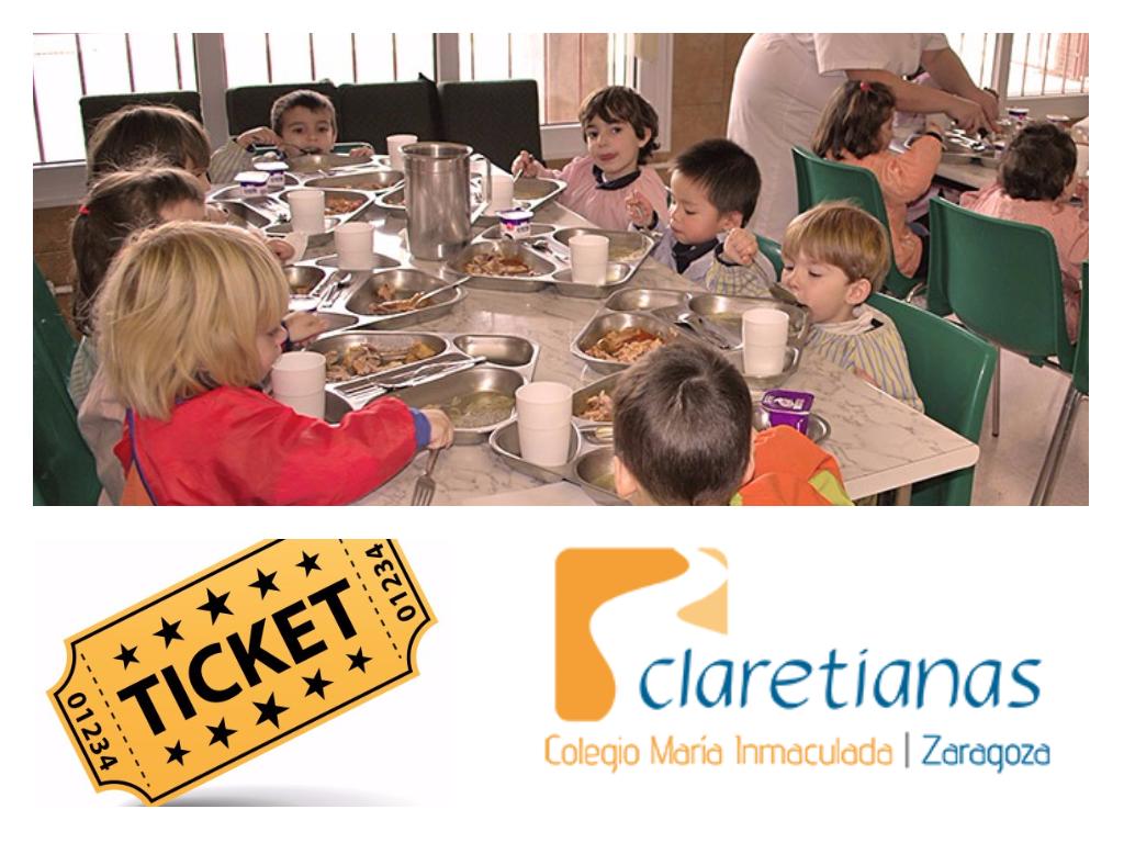 C mo comprar un ticket de comedor por anticipado for Proyecto de comedor infantil