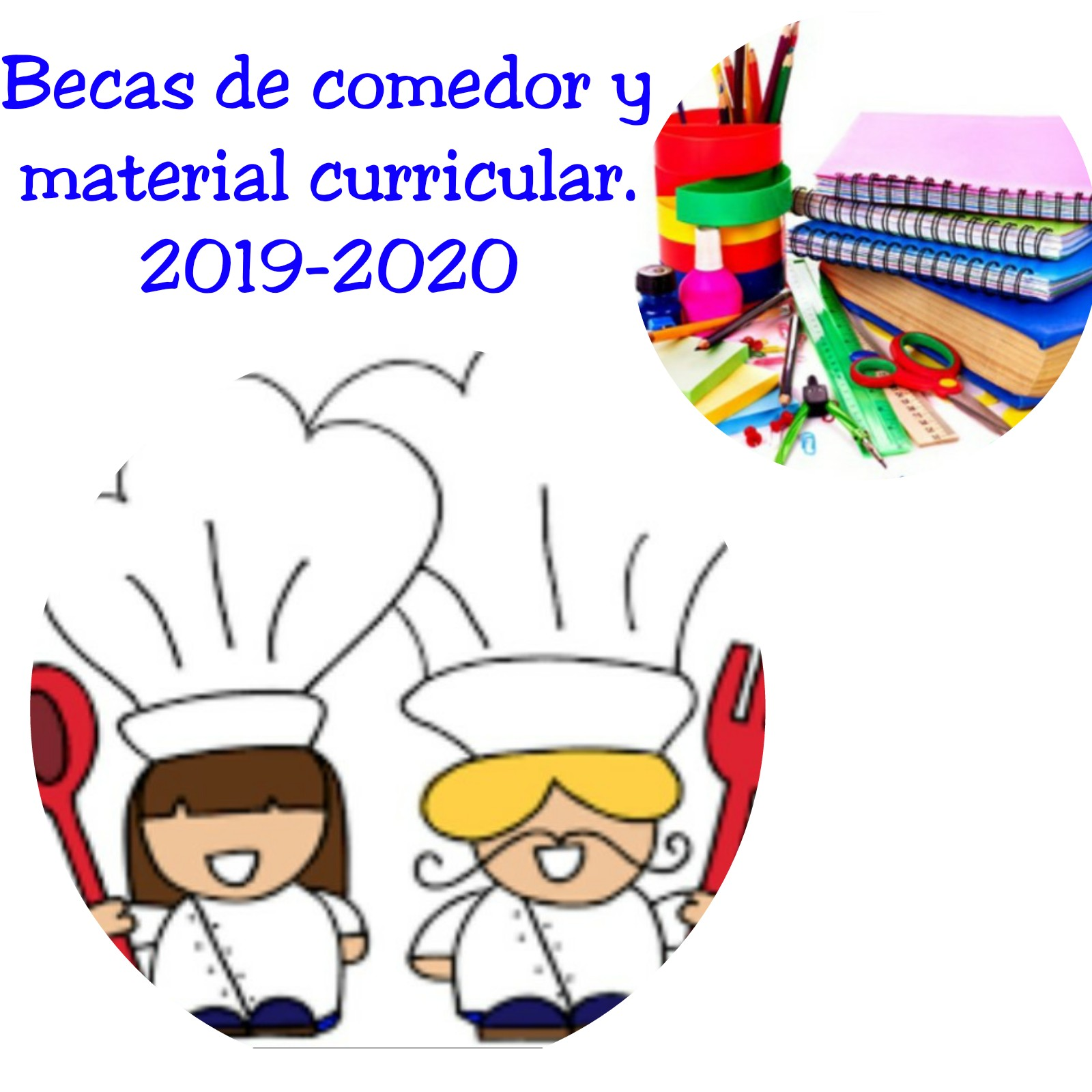 Becas comedor/material curricular 2019-2020 | Claretianas ...